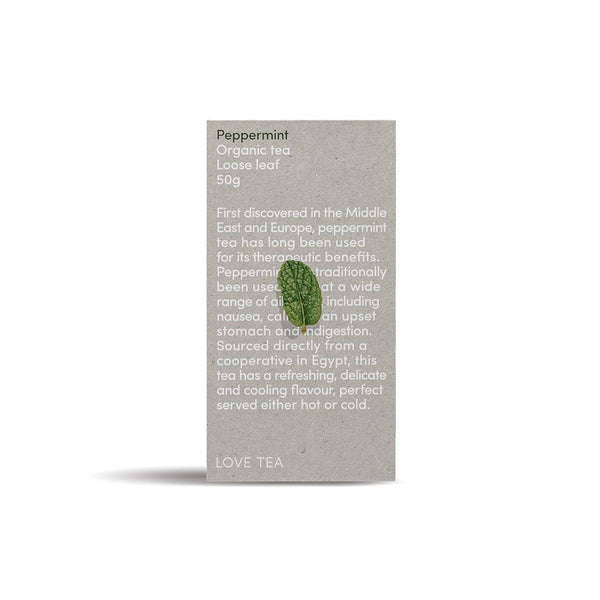 Love Tea Peppermint Tea Herbal Teas Love Tea 50g