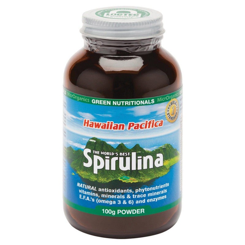 MicrOrganics Spirulina Powder - Hawaiian Pacifica Supplement Oborne Health Supplies