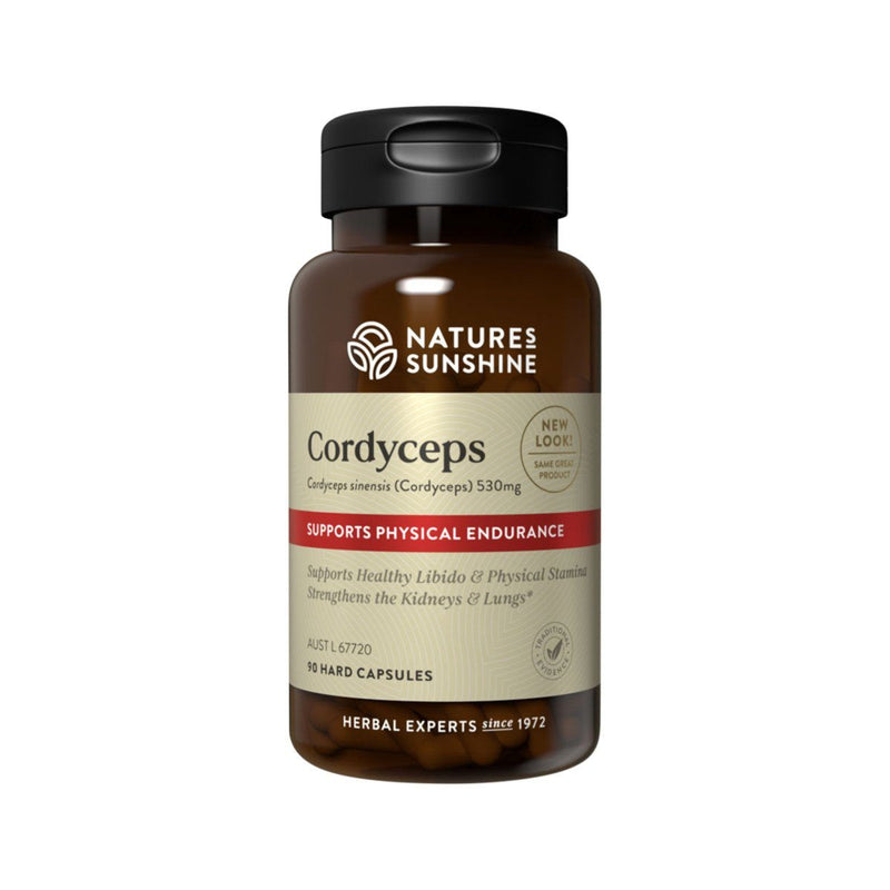 Natures Sunshine Coryceps 530mg Supplement Natures Sunshine