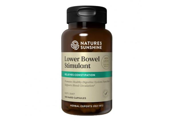 Natures Sunshine Lower Bowel Stimulant Supplement Natures Sunshine