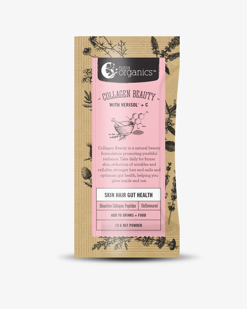 NutraOrganics Collagen Beauty™ Sachet Supplement Oborne Health Supplies