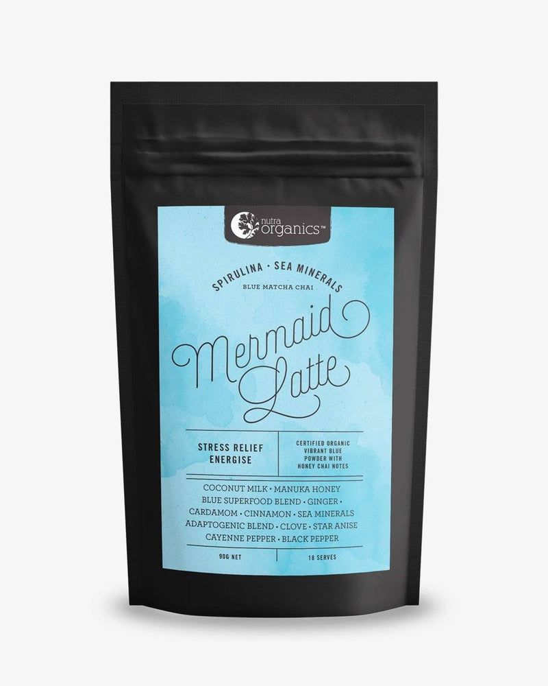 NutraOrganics Mermaid Latte Herbal Teas Oborne Health Supplies