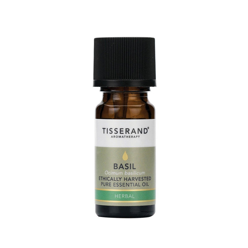 Tisserand Basil Essential Oil Gifts, Books & Accessories Oborne Health Supplies