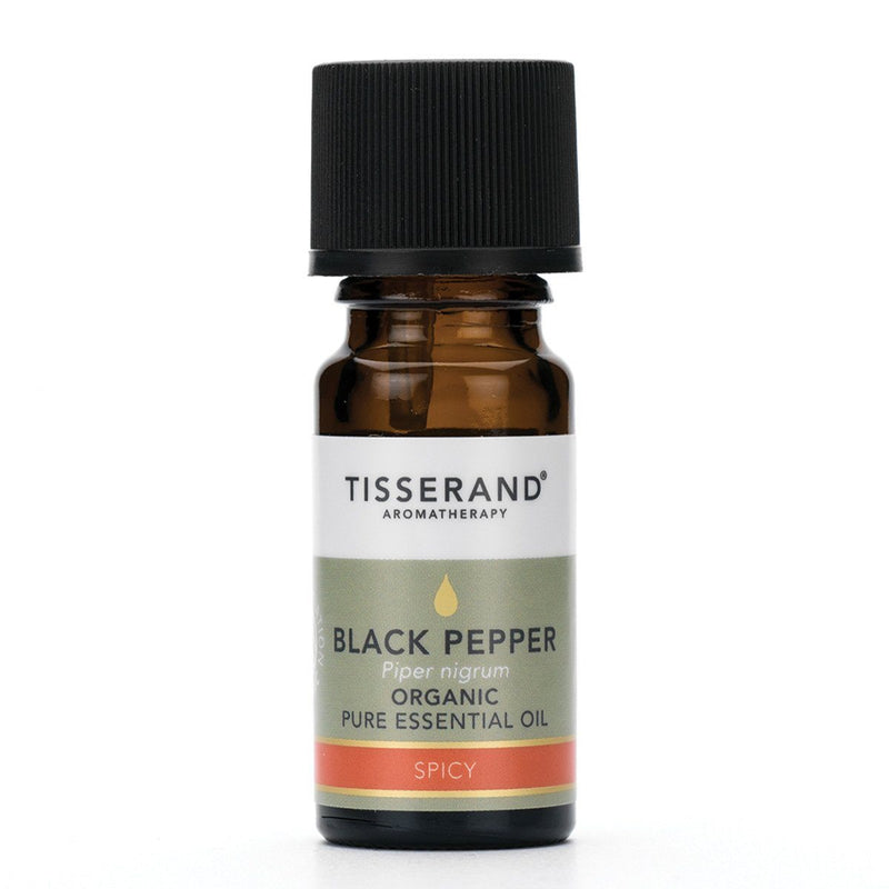 Tisserand Organic Black Pepper Essential Oil Gifts, Books & Accessories Oborne Health Supplies