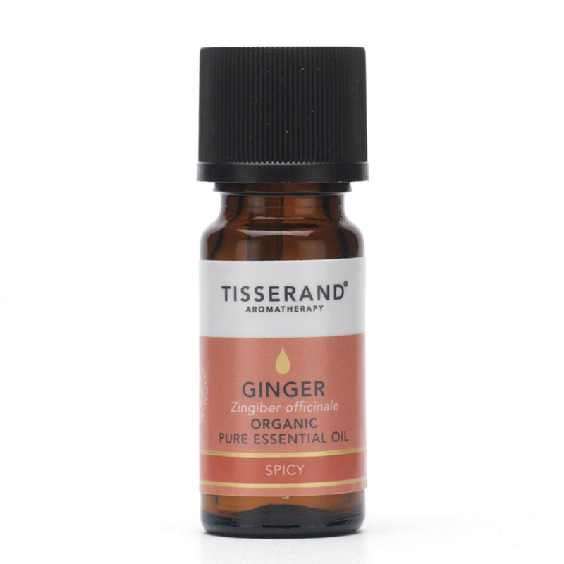 Tisserand Organic Ginger Essential Oil Gifts, Books & Accessories Oborne Health Supplies