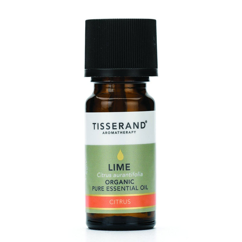 Tisserand Organic Lime Essential Oil Gifts, Books & Accessories Oborne Health Supplies