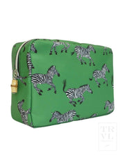 New! Big Glam Green Zebra
