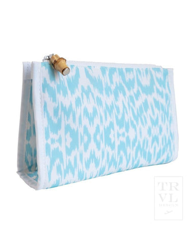 Day Tripper - Aqua Ikat
