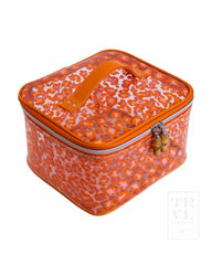 Head Case Cheetah Orange Clear