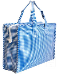 Market Tote - Gingham Gingham Royal