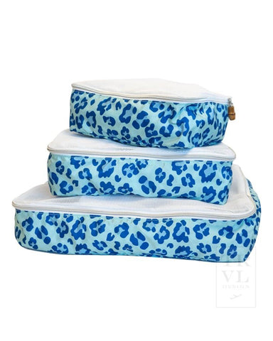 Packing Squad Leopard Blue