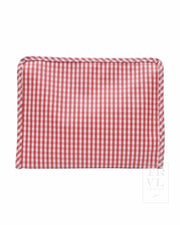 Roadie Medium - Red Gingham Med
