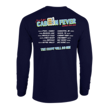 Load image into Gallery viewer, Cabin Fever Summer Tour 2020  ( Long Sleeve Navy Blue )