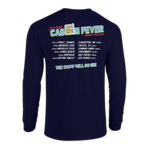 Cabin Fever Summer Tour 2020  ( Long Sleeve Navy Blue )