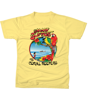 1982 Homecoming Tour Vintage Shirt - Yellow