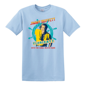 1986 Floridays Tour Vintage Shirt - Light Blue