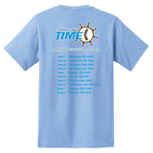 Load image into Gallery viewer, 2021 Nothin' But Time Virtual Tour Pocket Tee - Light Blue