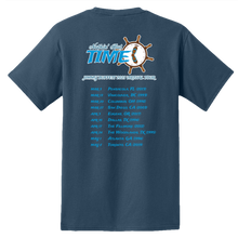 Load image into Gallery viewer, 2021 Nothin' But Time Virtual Tour Shirt - Blue