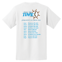 Load image into Gallery viewer, 2021 Nothin' But Time Virtual Tour Pocket Tee - White