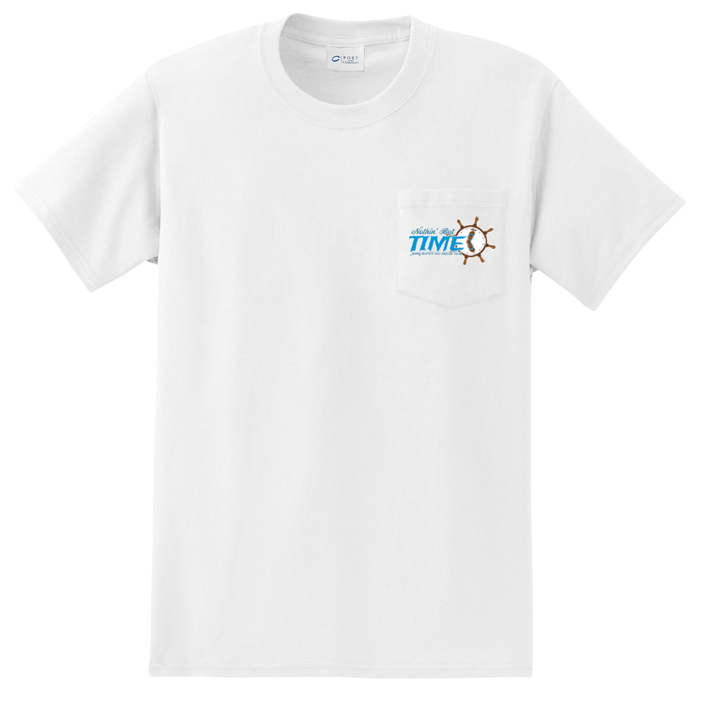 2021 Nothin' But Time Virtual Tour Pocket Tee - White