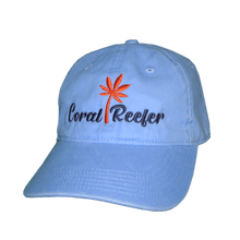 Load image into Gallery viewer, Coral Reefer Light Blue Hat