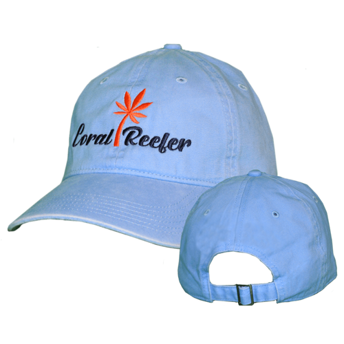 Coral Reefer Light Blue Hat