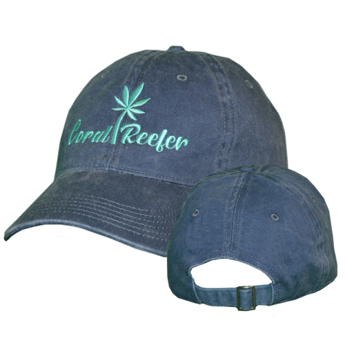Coral Reefer Dark Blue Hat