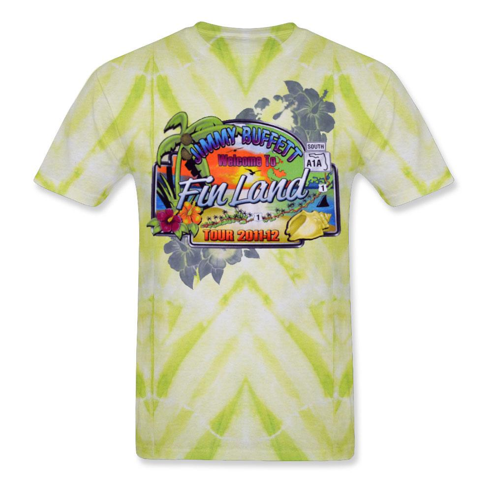 Welcome To Fin Land 2011-12 Ladies Tie Dye Tee