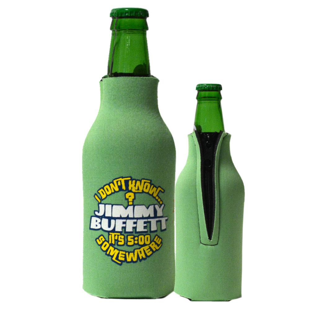 I Don't Know 2016 Green Bottle Koozie
