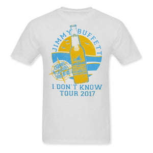 I Don't Know Tour 2017 Landshark Lager White Tee