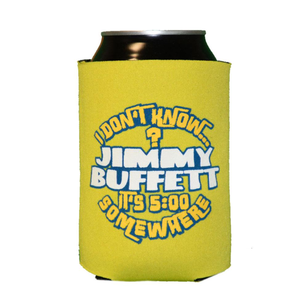 I Don't Know 2016 Yellow Can Koozie