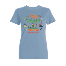 Load image into Gallery viewer, Cabin Fever Ladies Blue Hammock Tee