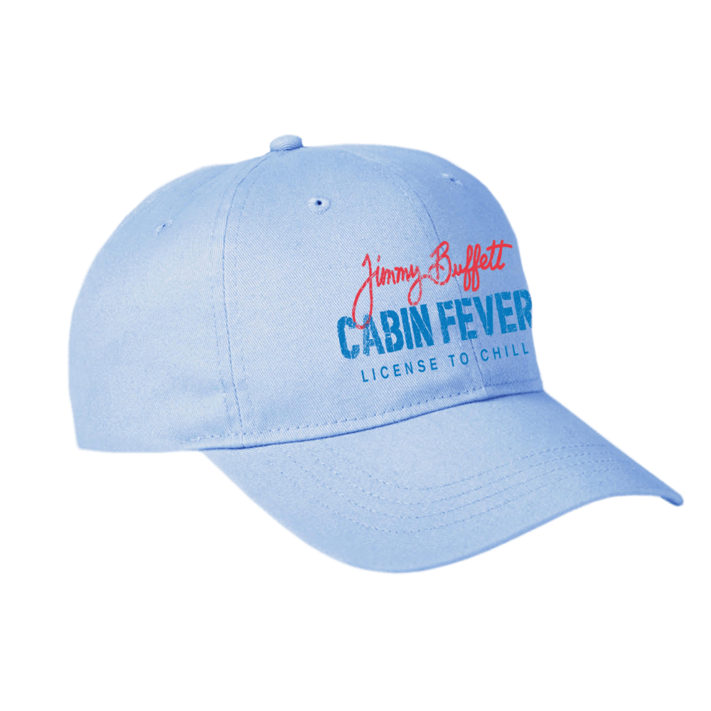 Jimmy Buffett Light Blue Cabin Fever Hat