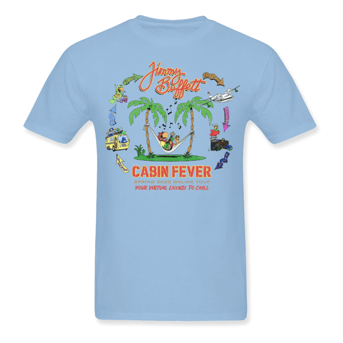 Cabin Fever Blue Tee