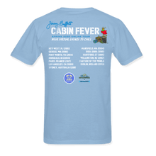 Load image into Gallery viewer, Cabin Fever Light Blue Pocket Tee Spring 2020 Online Tour