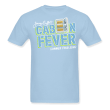 Load image into Gallery viewer, Cabin Fever Summer Tour 2020 Blue Tee