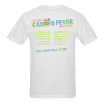 Load image into Gallery viewer, Cabin Fever Summer Tour 2020 White Tee
