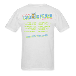 Cabin Fever Summer Tour 2020 White Tee