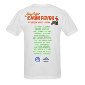 Cabin Fever White Hammock Tee Spring 2020 Online Tour Cities Listed