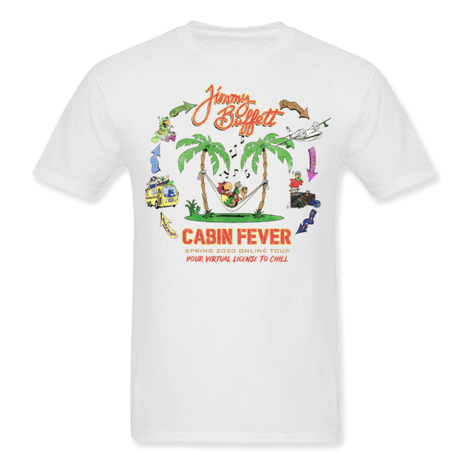 Cabin Fever White Tee