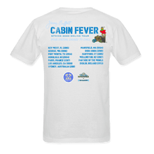 Load image into Gallery viewer, Cabin Fever Pocket Logo White Tee