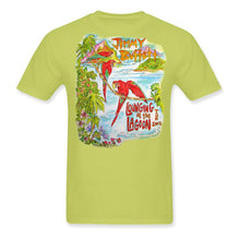 Load image into Gallery viewer, Lounging At The Lagoon Tour 2012 Austin Event Yellow Tee