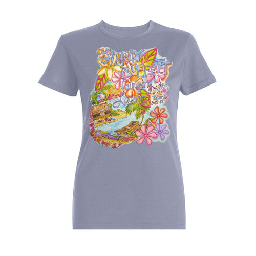 Lounging At The Lagoon Tour 2012-13 Ladies Lagoon Tee