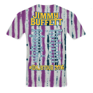 I Don't Know Tour 2016 Tie Dye Tee