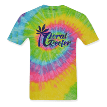 Load image into Gallery viewer, Coral Reefer Rainbow Tie Dye Tee Shirt