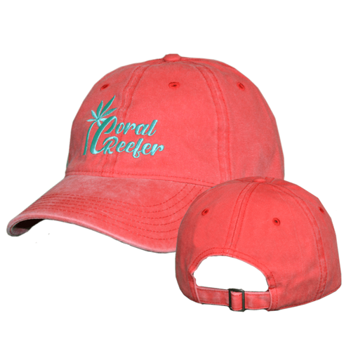 Coral Reefer Red Hat