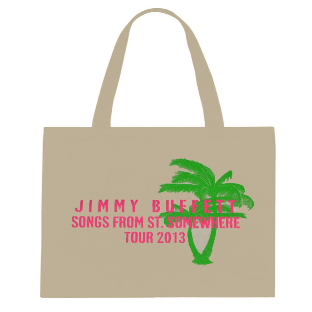 Songs From St. Somewhere 2013 Pink Lettering Tote Bag