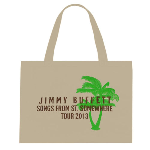 Songs From St. Somewhere 2013 Brown Lettering Tote Bag
