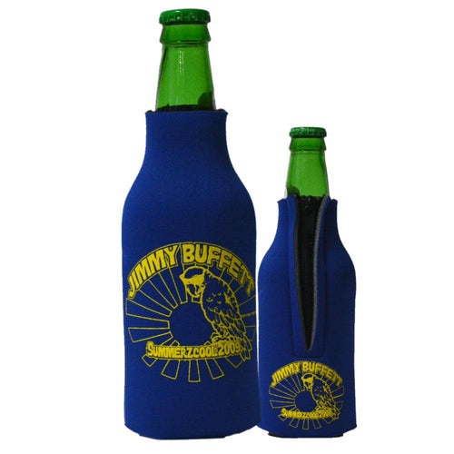 SummerZcool 2009 Blue and Yellow Bottle Koozie