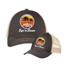 Load image into Gallery viewer, Tryin' To Reason Trucker's Cap Brown